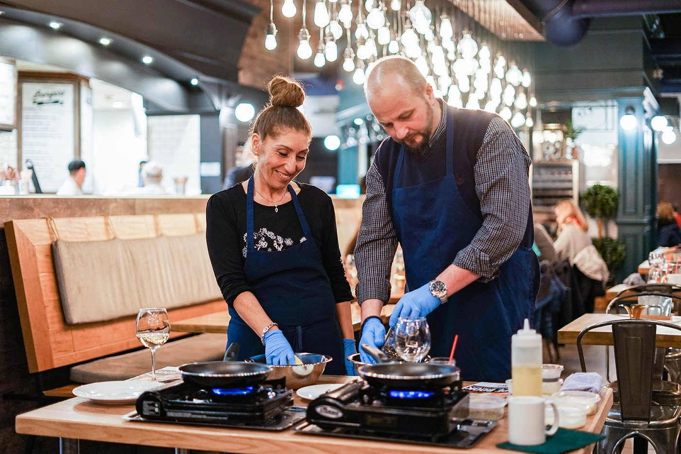 Join us for a Cooking Class at Cravings Market Restaurant