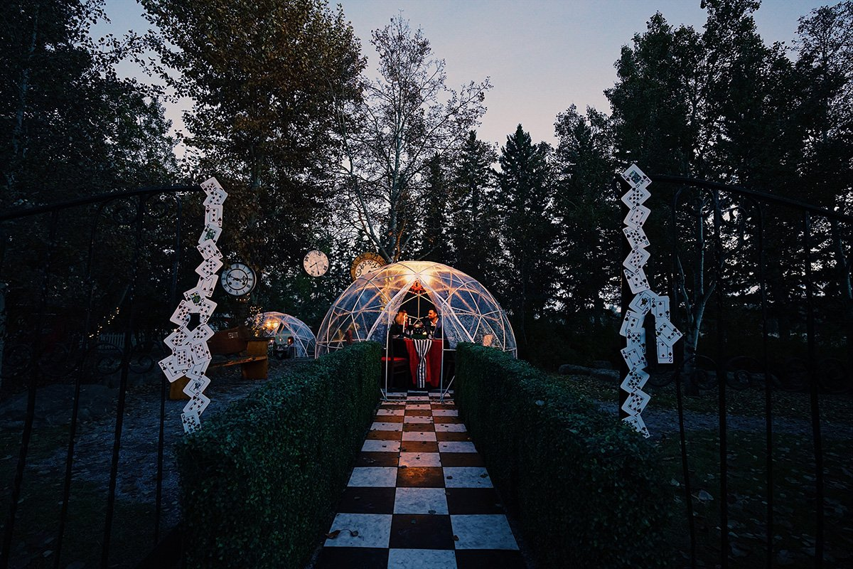 An Alice in Wonderland inspired dinner is coming to Calgary